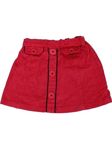 Jupe fille MATALAN rouge 18 mois hiver #1305156_1