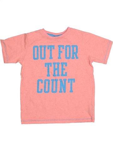 T-shirt manches courtes garçon NEXT rose 5 ans été #1305158_1