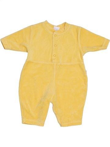 Combinaison longue unisexe HEMA jaune 3 mois hiver #1305188_1