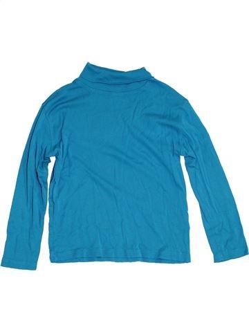 Camiseta de cuello alto niña DPAM azul 8 años invierno #1305274_1