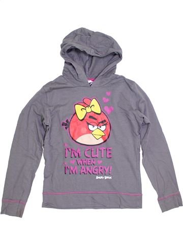 Sweat fille ANGRY BIRDS violet 11 ans hiver #1305300_1