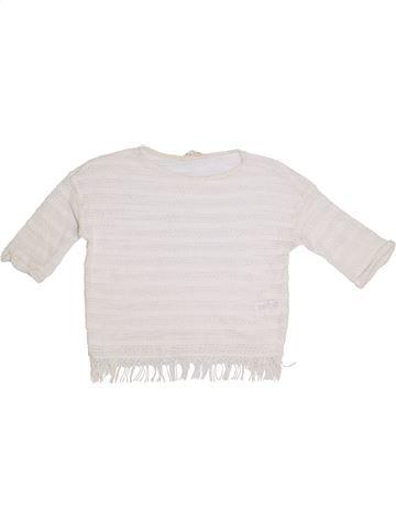 jersey niña H&M blanco 12 años verano #1305528_1