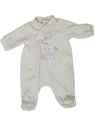 Pyjama 1 pièce unisexe IL MIO PRIMO CORREDINO blanc 1 mois hiver #1305537_1