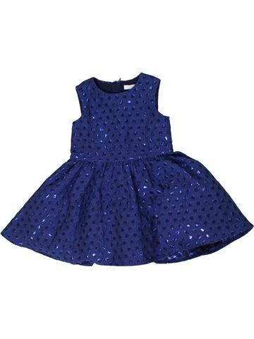 Robe fille MARKS & SPENCER bleu 18 mois hiver #1305608_1