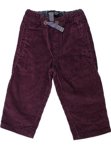 Pantalon garçon MINI BODEN marron 2 ans hiver #1305620_1