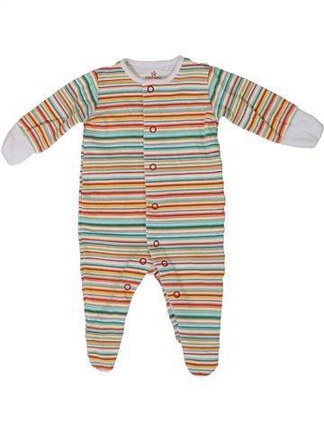 Pyjama 1 pièce unisexe NEXT beige 1 mois été #1305625_1