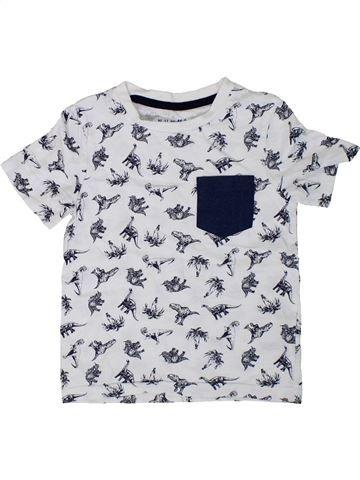 Camiseta de manga corta niño NUTMEG blanco 3 años verano #1305635_1