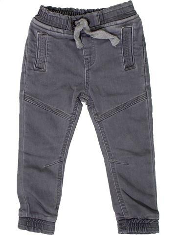 Pantalon garçon MATALAN bleu 2 ans hiver #1305717_1