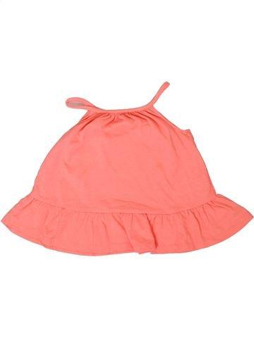 T-shirt sans manches fille F&F rose 18 mois été #1305723_1