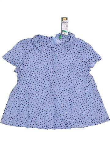 Blusa de manga corta niña BENETTON azul 11 años verano #1305730_1