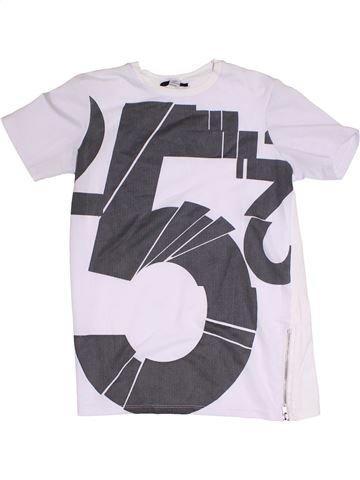 Camiseta de manga corta niño RIVER ISLAND blanco 10 años verano #1305754_1