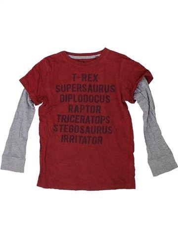 T-shirt manches longues garçon NEXT rouge 5 ans hiver #1305772_1