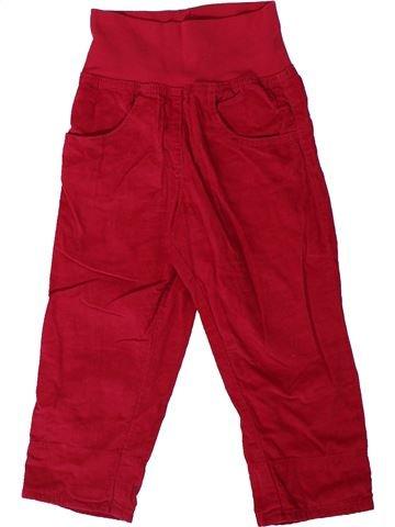 Pantalón niña LUPILU rojo 2 años invierno #1305848_1