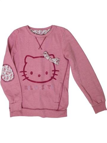 Sweat fille HELLO KITTY rose 11 ans hiver #1305873_1