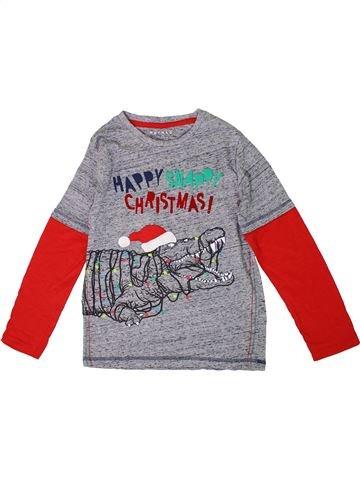 Camiseta de manga larga niño NUTMEG gris 9 años invierno #1305906_1