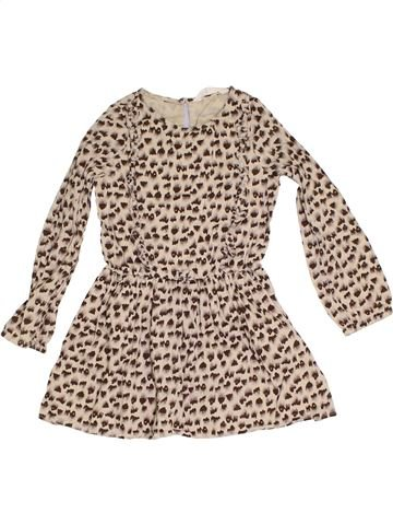 Vestido niña H&M beige 7 años invierno #1305963_1