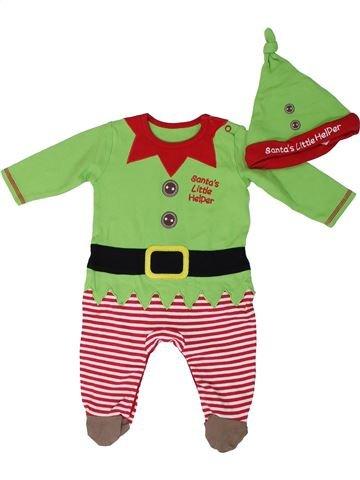 Pijama de 1 pieza niño GEORGE verde 3 meses verano #1305971_1