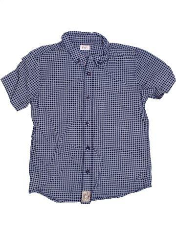Chemise manches courtes garçon F&F gris 8 ans été #1306045_1