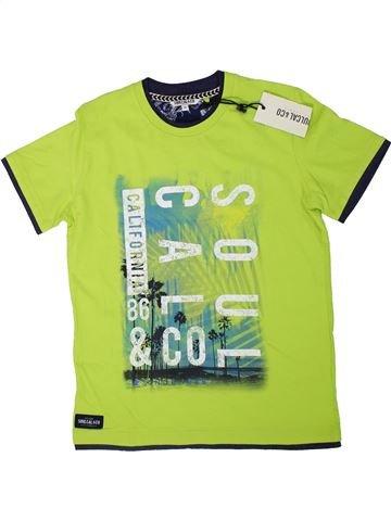 T-shirt manches courtes garçon SOULCAL&CO vert 13 ans été #1306049_1