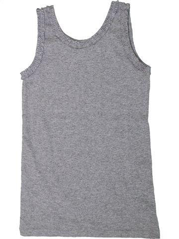 T-shirt sans manches fille I LOVE GIRLSWEAR gris 9 ans été #1306103_1