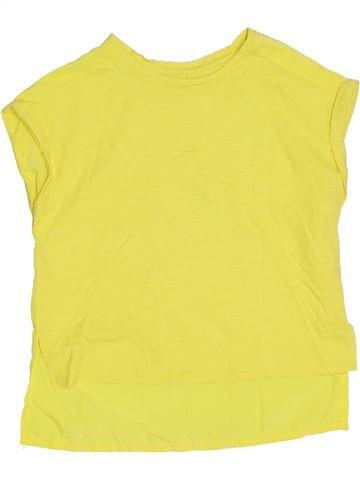 Camiseta de manga corta niña RIVER ISLAND amarillo 6 años verano #1306106_1