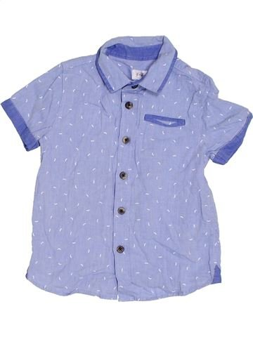 Camisa de manga corta niño F&F violeta 4 años verano #1306183_1
