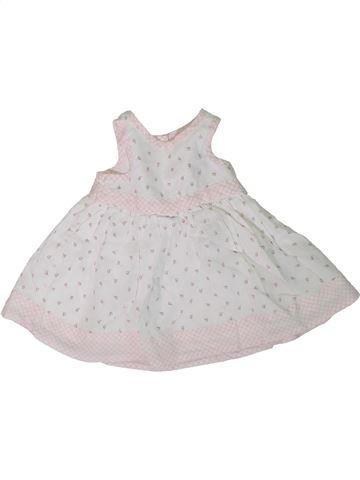 Robe fille MOTHERCARE blanc naissance été #1306195_1