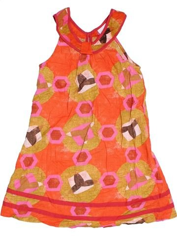 Vestido niña NEXT naranja 10 años verano #1306244_1