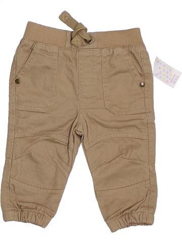Pantalón niño F&F beige 6 meses invierno #1306281_1