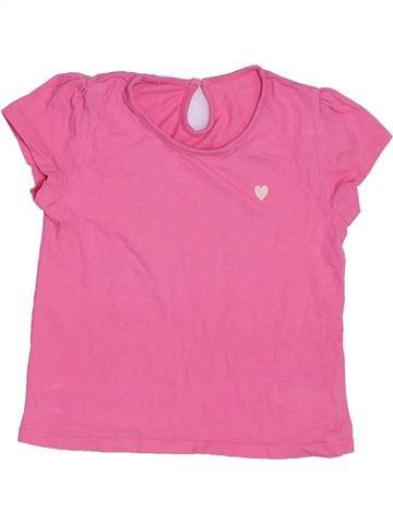 Camiseta de manga corta niña MATALAN rosa 4 años verano #1306284_1