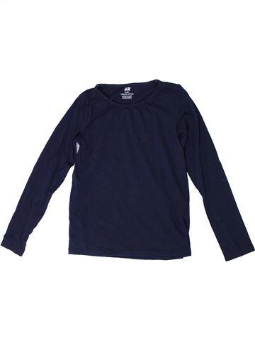 Camiseta de manga larga niña H&M azul 8 años invierno #1306345_1