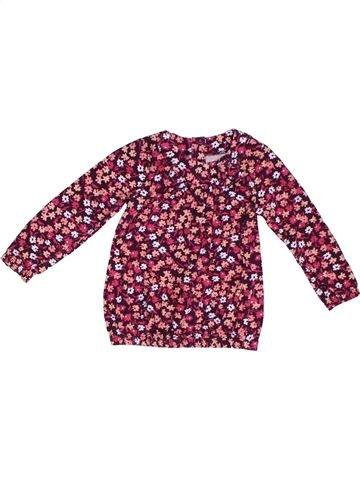 T-shirt manches longues fille NUTMEG violet 3 ans hiver #1306378_1
