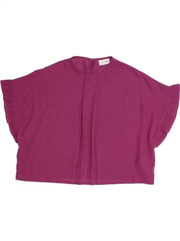 Blouse manches courtes fille NEXT violet 11 ans été #1306385_1