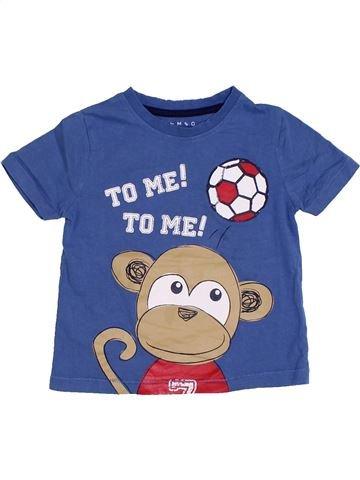 Camiseta de manga corta niño NUTMEG azul 2 años verano #1306433_1