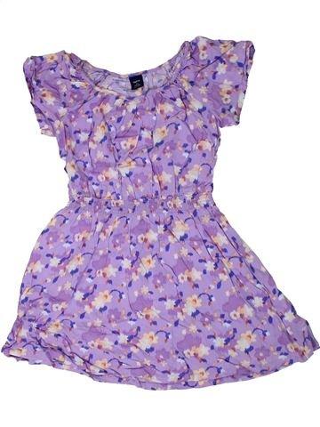 Robe fille GAP violet 7 ans été #1306448_1