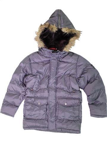 Doudoune garçon SANDSOIL violet 8 ans hiver #1306498_1