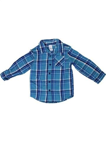 Camisa de manga larga niño C&A azul 2 años invierno #1306520_1