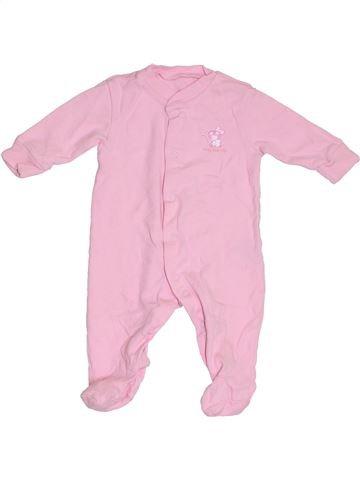 Pyjama 1 pièce fille DUNNES STORES rose 3 mois été #1306562_1