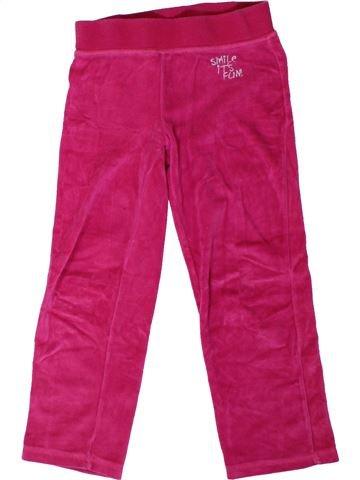 Pantalon fille ALIVE rose 6 ans hiver #1306588_1