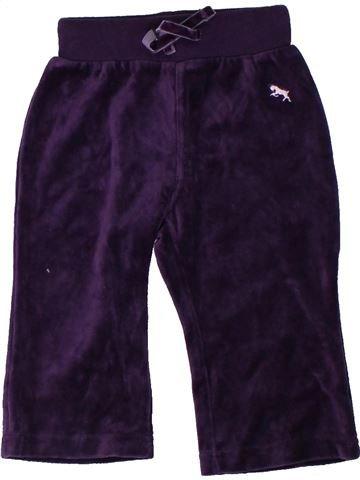 Pantalon fille H&M violet 18 mois hiver #1306595_1