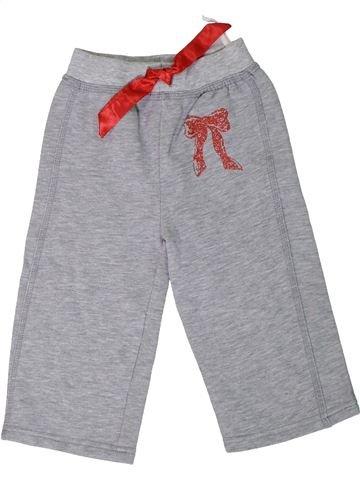 Pantalón niña OKAY gris 2 años invierno #1306603_1