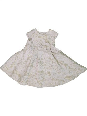 Vestido niña GEORGE blanco 9 meses invierno #1306613_1
