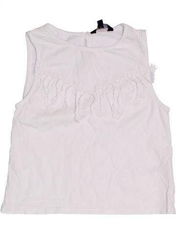 T-shirt sans manches fille CANDY COUTURE blanc 9 ans été #1306648_1