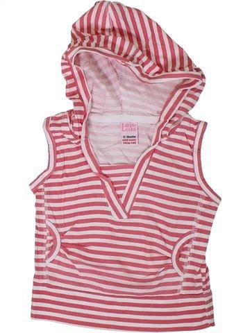 T-shirt manches courtes fille LILY & LEILA rose 18 mois été #1306697_1