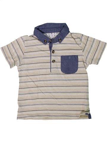 Polo manches courtes garçon MATALAN blanc 12 mois été #1306708_1