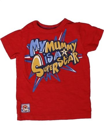 Camiseta de manga corta niño NEXT rojo 18 meses verano #1306714_1