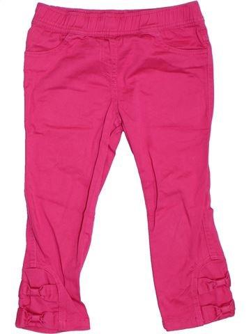 Pantalón corto niña NEXT rosa 8 años verano #1306787_1