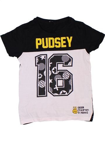 Camiseta de manga corta niño GEORGE blanco 8 años verano #1306822_1