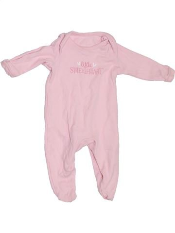 Pijama de 1 pieza niña GEORGE rosa 1 mes verano #1306879_1