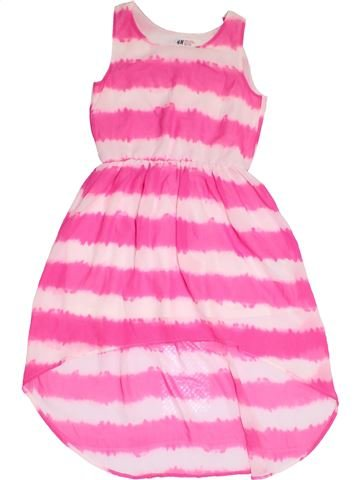 Robe fille H&M rose 11 ans été #1306979_1